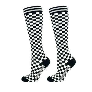 Damalı diz altı çorap
