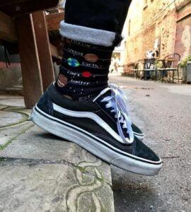 Güneş Sistemi Özel Tasarım Çorap