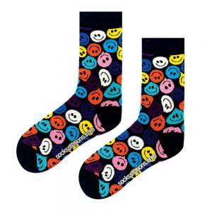 Renkli Şirin Soket Tasarım Çorap