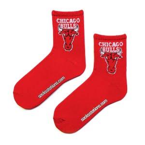 Chicago Bulls Kırmızı Tenis Çorap