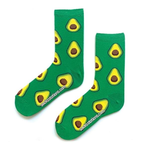 Yeşil Avokado Çorap