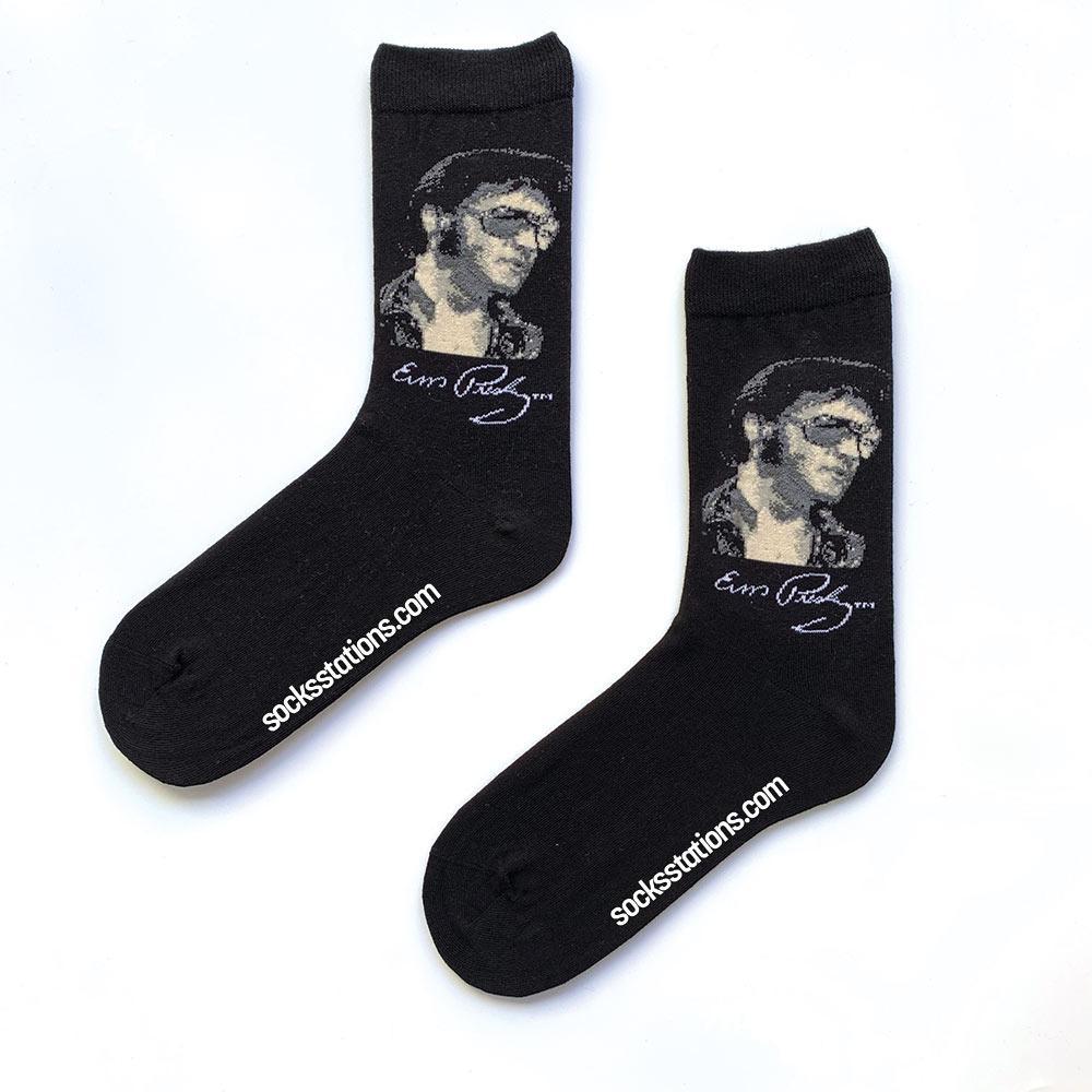 Elvis Presley siyah çorap