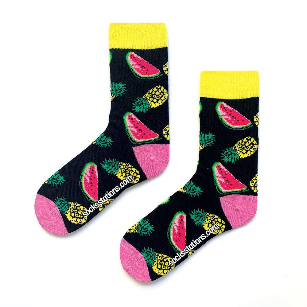 karpuzlu ananas çorap