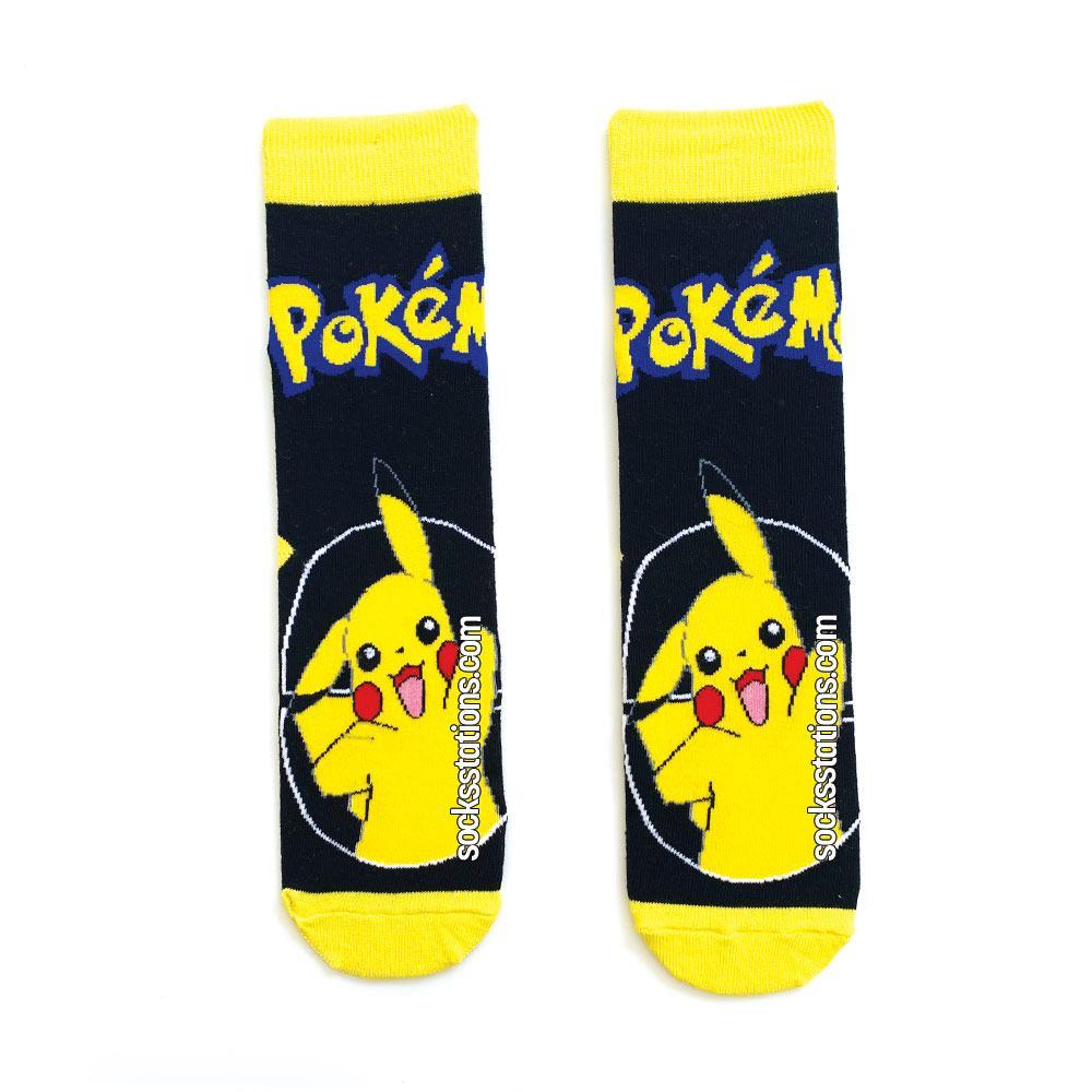 Pikachu pokemon çorap