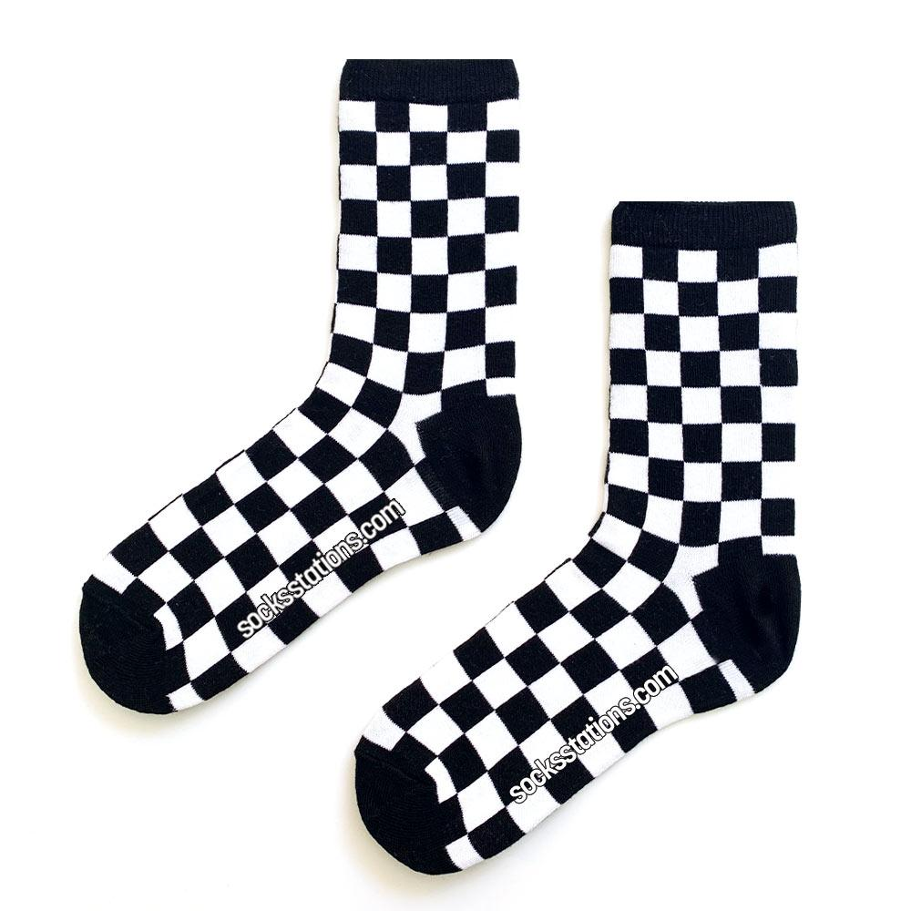 Full büyük damalı çorap