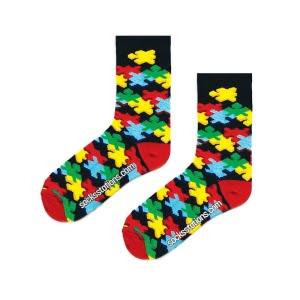3D Puzzle Desenli Çorap
