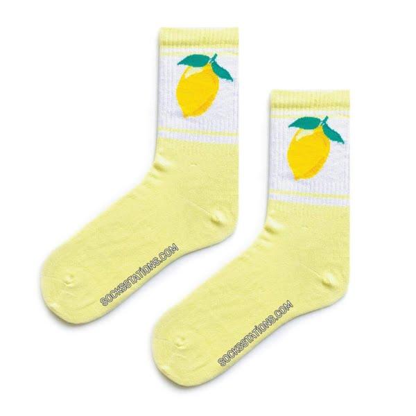 Limon Sarı X Çorap
