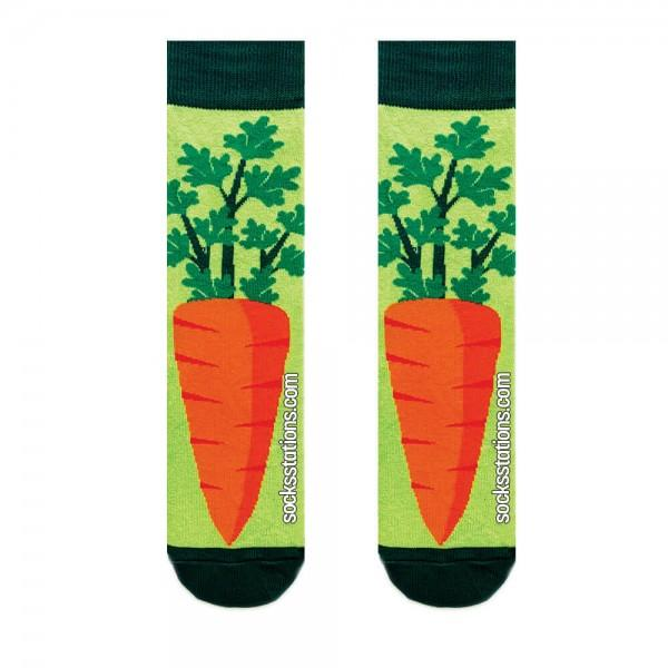 Havuç Yeşil Çorap