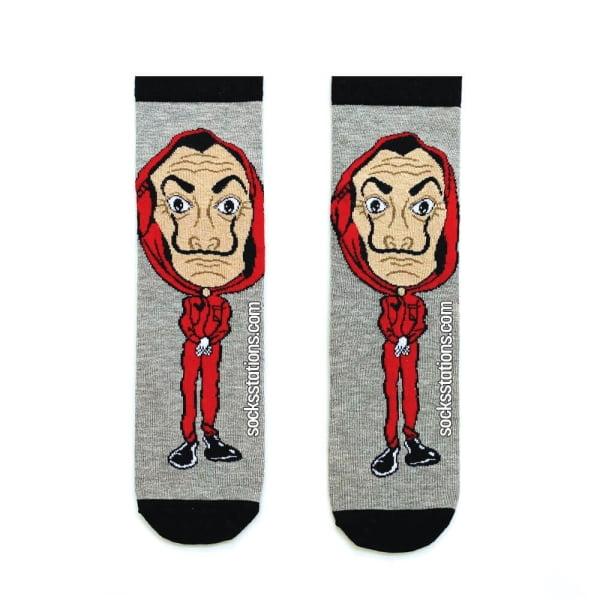 La Casa De Papel Karakter Çorap
