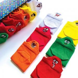 Çocuk Bilek Nakışlı Çorap Kutusu
