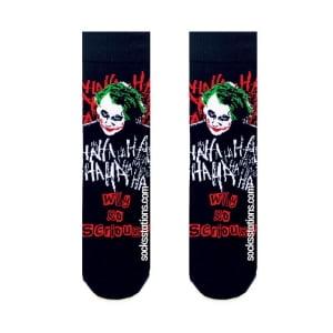 Joker Siyah Çorap 2