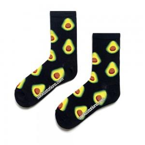 Siyah Avokado Çorap