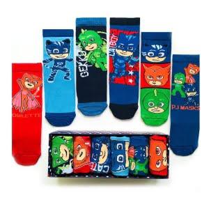 6'lı PJ Masks Çocuk Çorap Kutusu