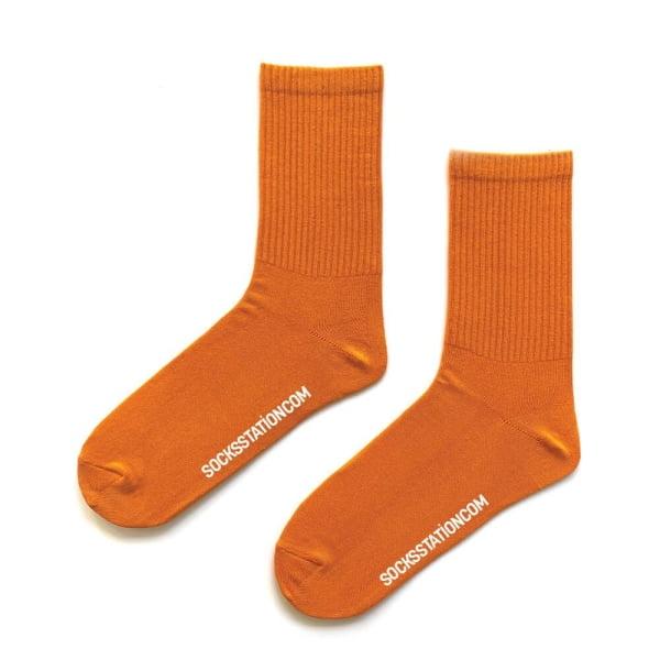 (43-47) Erkek Hardal Çorap