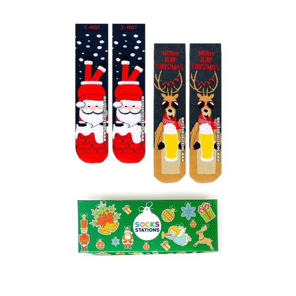 2'li Geyik Havlu Çorap