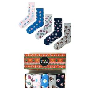 5'li CupCake Çorap Kutusu