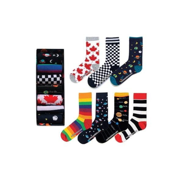 7'li Tasarım Çorap Kutusu
