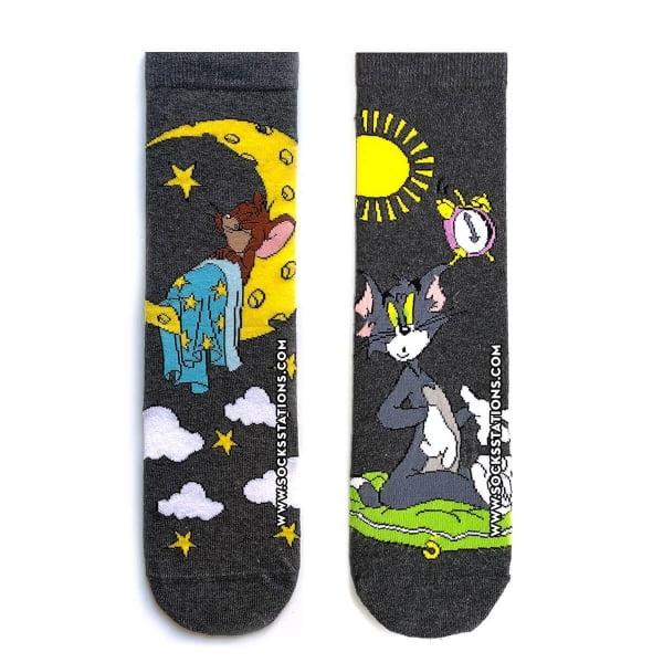 Tom & Jerry Tasarım Çorap