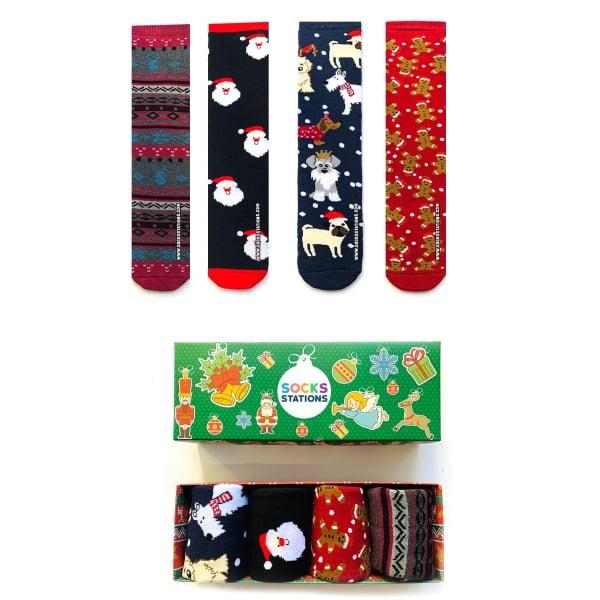 4'lü Kaymaz Taban Havlu Çorap Kutusu
