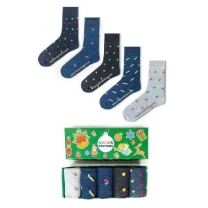(42-46) 5'li Erkek Çorap Kutusu 1