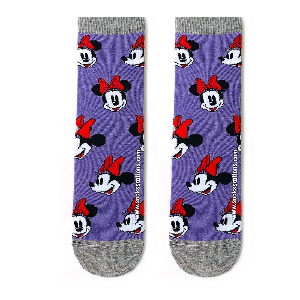 Mor Mickey çorap