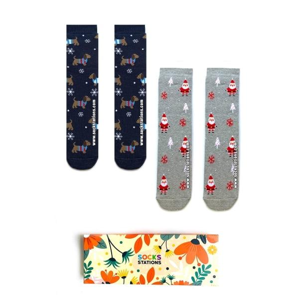 2'li HAVLU Çorap Kutusu