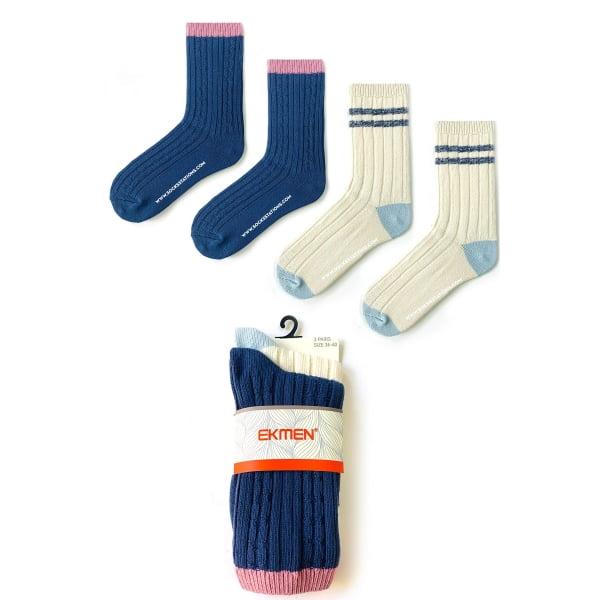 2'li Yün Çorap 8