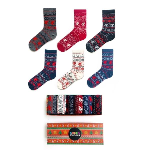 6'lı Kayık Desenli Çorap Kutusu 2