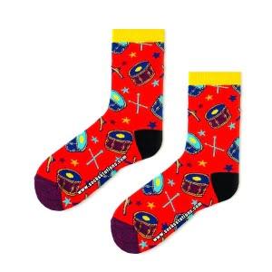 Kırmızı Bando Çorap