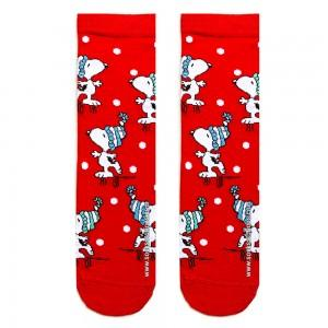 Kırmızı Snoopy Çorap