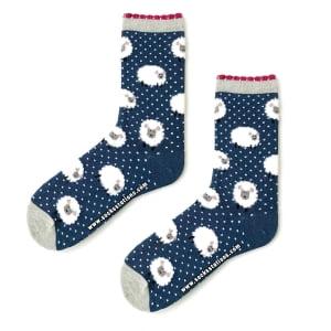 Mavi Koyun Çorap
