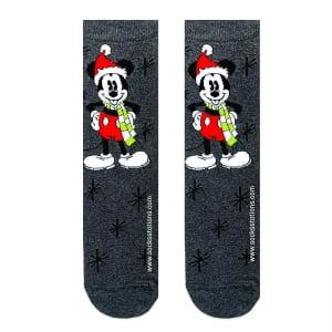 Şapkalı Mickey Mouse Çorap
