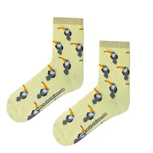 Sarı tukan çorap