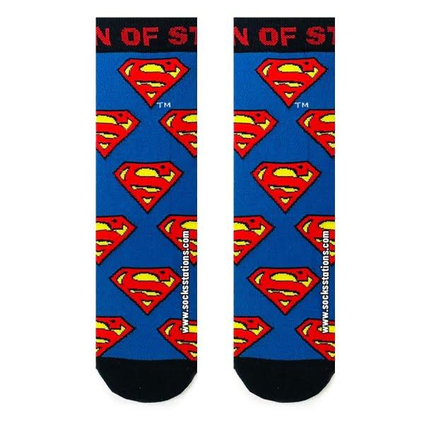 Superman Desenli Çorap