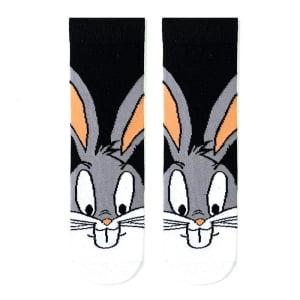 Bugs Bunny Siyah Çorap