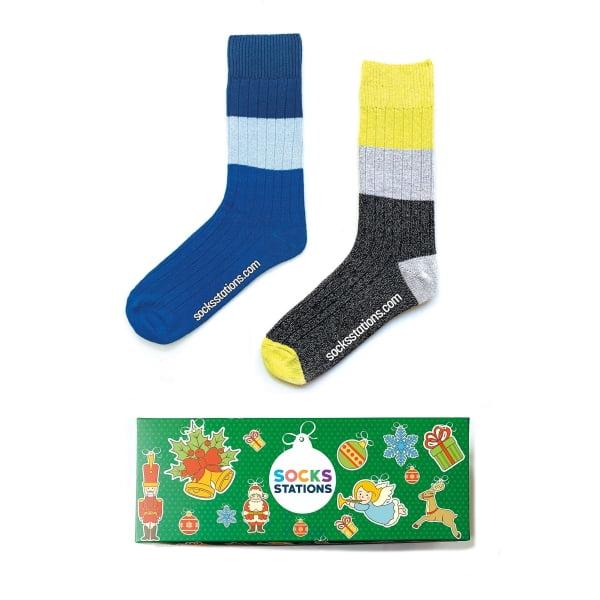 2'li Yünlü Çorap Seti