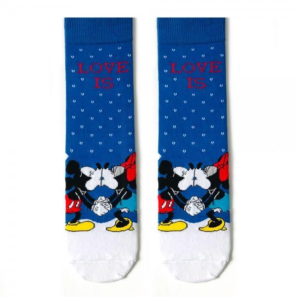 Mavi Mickey Mouse Çorap