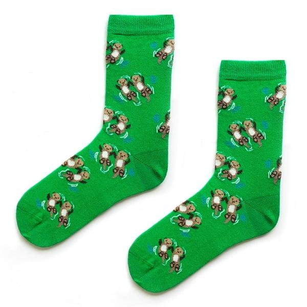 Yeşil Samurcuk Çorap