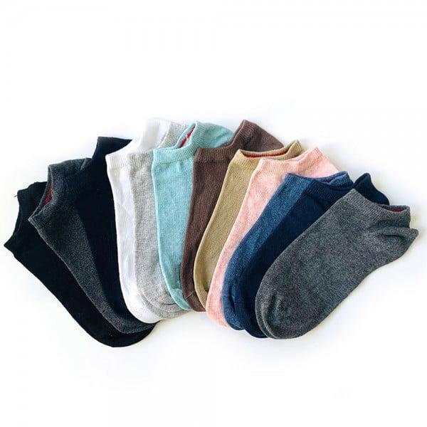 12'li pastel renkli bilek çorap kutusu