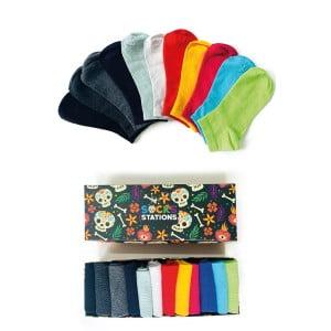 12'li Pastel Renkler Çorap Kutusu 2