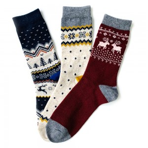 3'lü Yün Çorap Kutusu