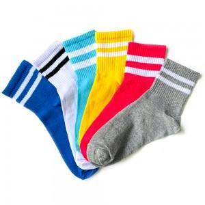 6'lı Tenis Çift Çizgi Çorap Kutusu