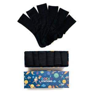 6'lı Bambu Siyah Çorap Kutusu