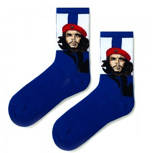 Che Mavi Sanatsal Çorap