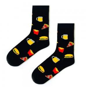 (42-46) Erkek Pizza Menü Çorap