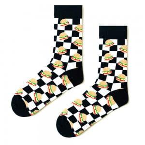 (43-47) Erkek Damalı ve Patates Desenli Çorap