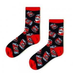 Kırmızı Beer Çorap