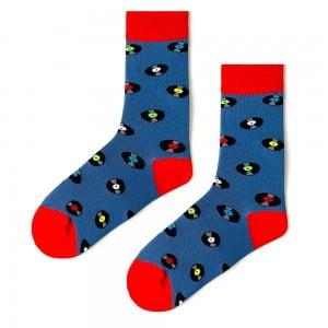 (42-46) Erkek Plak Mavi Çorap