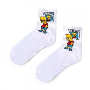 Wanted El Barto Tenis Çorap
