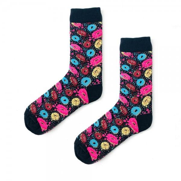 (43-47) Erkek Renkli Donut Çorap